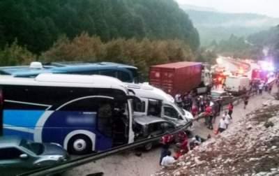 В Турции произошла авария с участием 30 машин