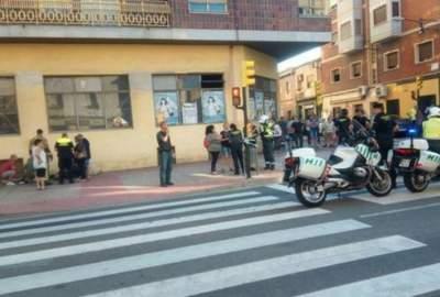 В Испании машина врезалась в пешеходов
