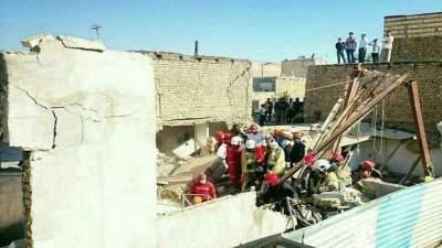 В Иране в результате взрыва обрушились три здания, десять погибших