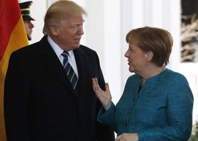 Трамп и Меркель поговорили об Украине