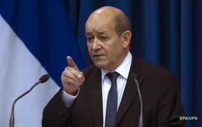 Во Франции прокомментировали отправку миротворцев на Донбасс