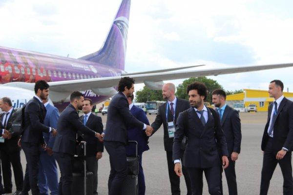 Мохаммед Салах в составе сборной Египта прибыл в Грозный