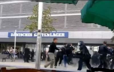 Немецкая полиция задержала сотни протестующих