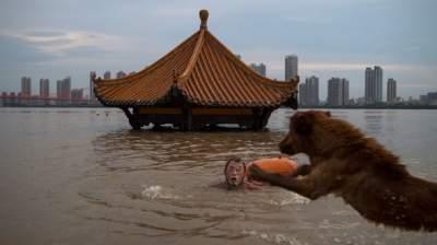 Китай накрыли мощные ливни