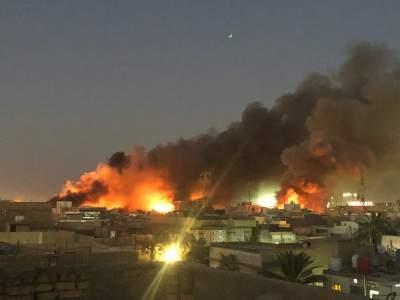В Ираке разгромили и подожгли консульство Ирана