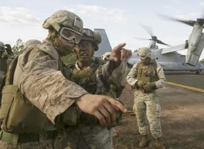 Египет и США начали совместные военные учения