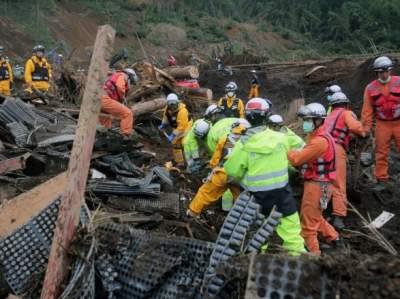 Смертельное землетрясение в Японии: число жертв возросло