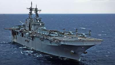 В Средиземное море стянули ударную группу ВМС США