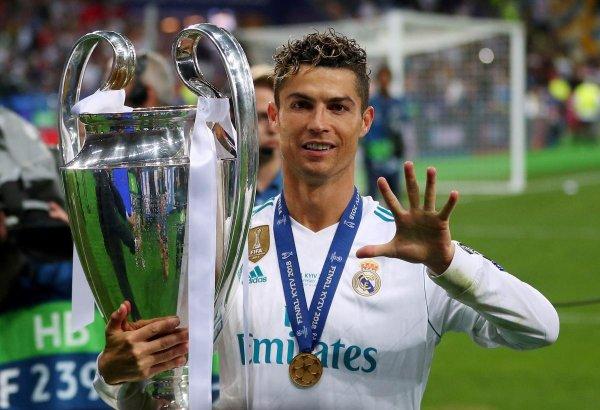 Криштиану Роналду: «Мне было хорошо в мадридском клубе»