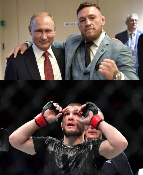 Нурмагомедов гордится поздравлением с победой от Путина