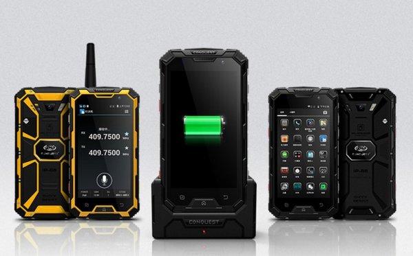 Монстры среди телефонов работают в экстремальных условиях