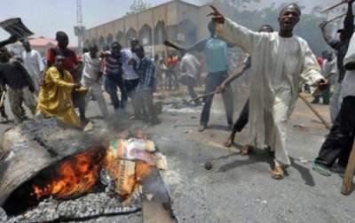 Религиозный конфликт в Нигерии стал причиной гибели 55 человек