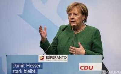 Рейтинг партии Меркель снова упал