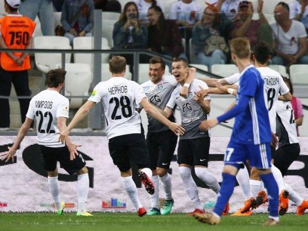 Ленинградский «Тосно» впервые стал обладателем Кубка России по футболу