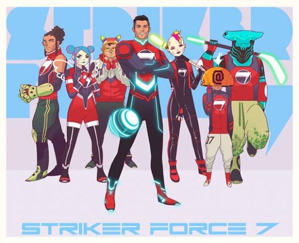 Криштиано Роналдо станет персонажем мультфильма о супергероях