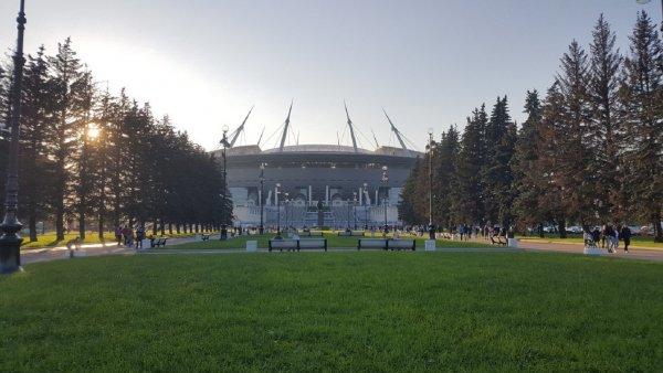 В Петербурге появились информационные стенды к ЧМ-2018 с ошибками