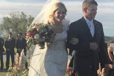 Американская пара разбилась на вертолете через час после свадьбы
