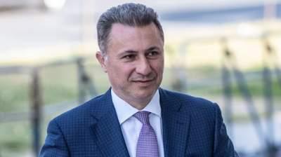СМИ: Венгрия помогла сбежать осужденному экс-премьеру Македонии
