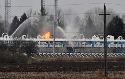 В Венгрии произошли утечка и пожар в газохранилище