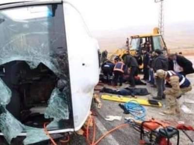 В Турции разбился автобус: семеро погибших