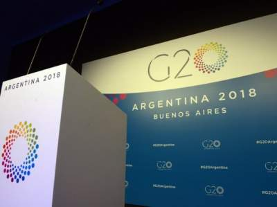 """В Буэнос-Айресе началось заседание саммита """"большой двадцатки"""""""