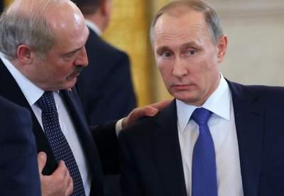 Между Путиным и Лукашенко возник спор