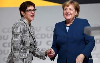 Названо имя преемницы Меркель