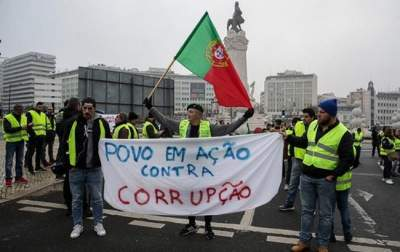 В Португалии произошли стычки полиции с
