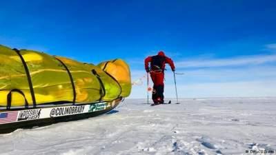 Американец на лыжах в одиночку пересек Антарктиду