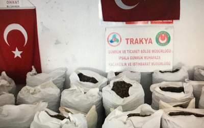 Турецкие таможенники установили новый рекорд по изъятию наркотиков