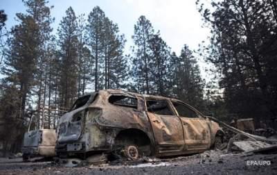 Трамп запретил финансировать борьбу с пожарами в Калифорнии