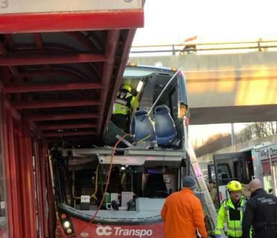 Масштабное ДТП с автобусом в Канаде: есть погибшие