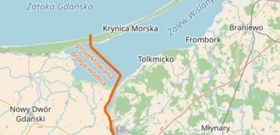 Польша планирует построить остров в Калининградском заливе