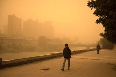 На Египет обрушилась сильная песчаная буря