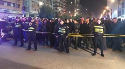 В Тбилиси в жилом доме прогремел взрыв