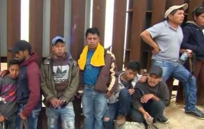 Через подкоп на границе США и Мексики пробрались 376 мигрантов