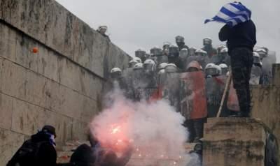 В Греции люди вышли на протесты против нового названия Македонии