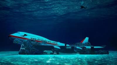 Власти Бахрейна решили затопить 70-метровый Boeing
