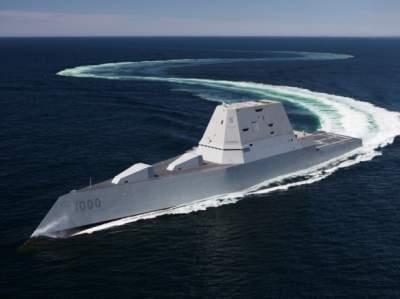 В США ввели в действие есминець-