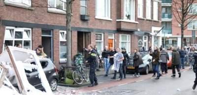В Гааге произошел мощный взрыв