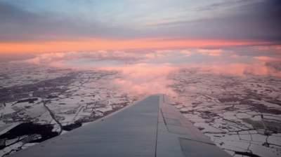Мощный снегопад обрушился на Великобританию