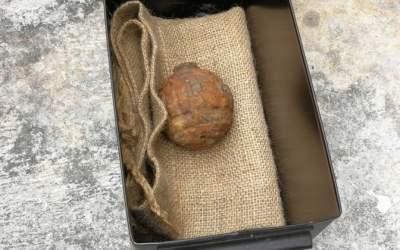 Китайцы нашли гранату в картофеле из Франции