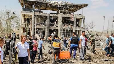 В Сирии возле турецкой границы взорвался автомобиль