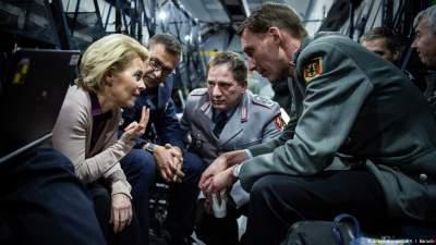 Германия обещает рост военного бюджета