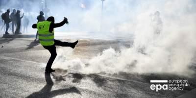 Во Франции продолжаются протесты