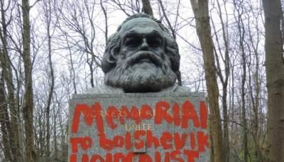 В Британии осквернили могилу Карла Маркса