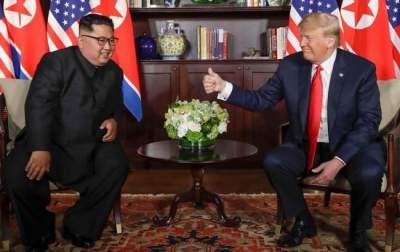 В США назвали цель предстоящей встречи Трампа и Ким Чен Ына