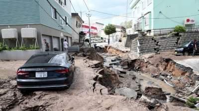 На японском Хоккайдо произошло землетрясение: есть раненые