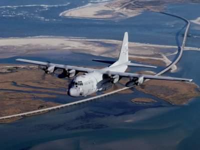 Над территорией России пролетел американский военный самолет