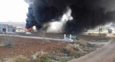 В Сирии автобус подорвался на мине: много погибших